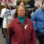 woman_marching