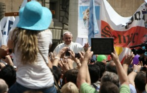 Pope Francis at the May 12 Marcia per la Vita (March for Life) Internazionale
