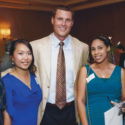 San Diego Chargers quarterback Philip Rivers at an Agnus Dei event.