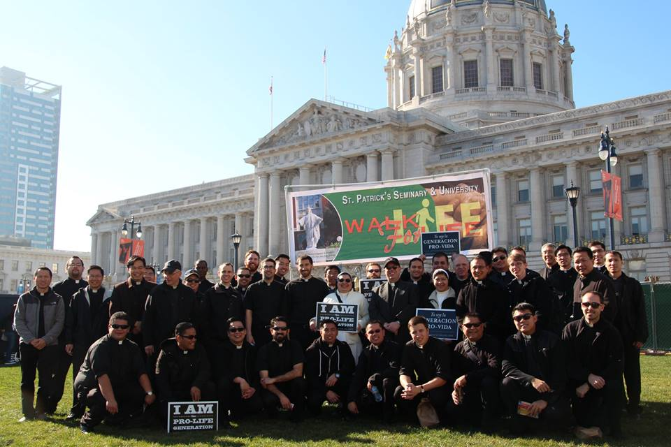 seminarians_walk for Life 2015