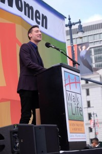 David Daleiden. Credit: Darwin Sayo, Walk for Life West Coast Media Team